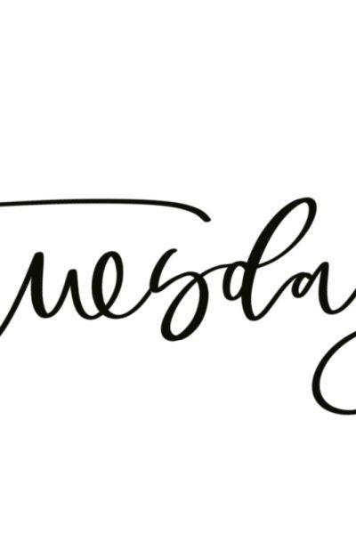 Lettering Lesson Breakdown – Tuesday