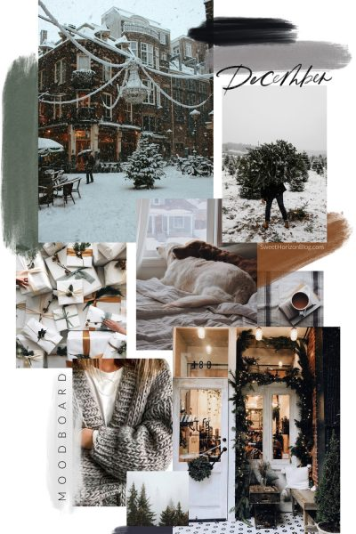 December Moodboard + Yearly Overview
