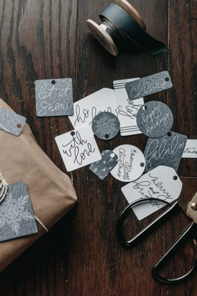 New to the Shop – Holiday Gift Tags