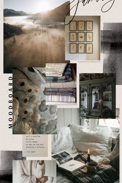 January Moodboard + Yearly Goals