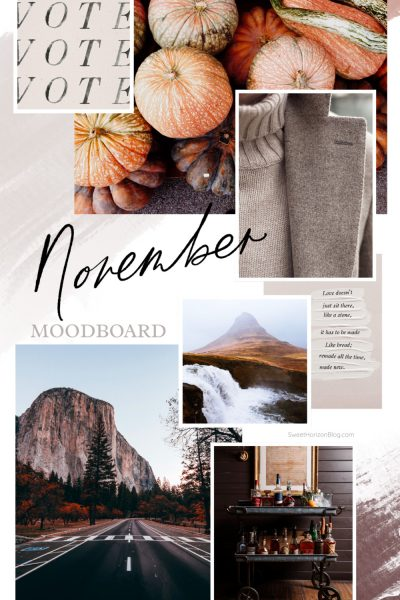 November Moodboard + What I'm Thankful For