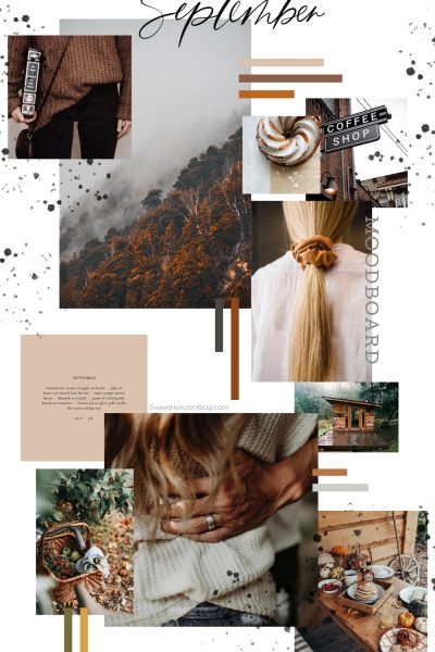 September Free Background and Monthly Goals