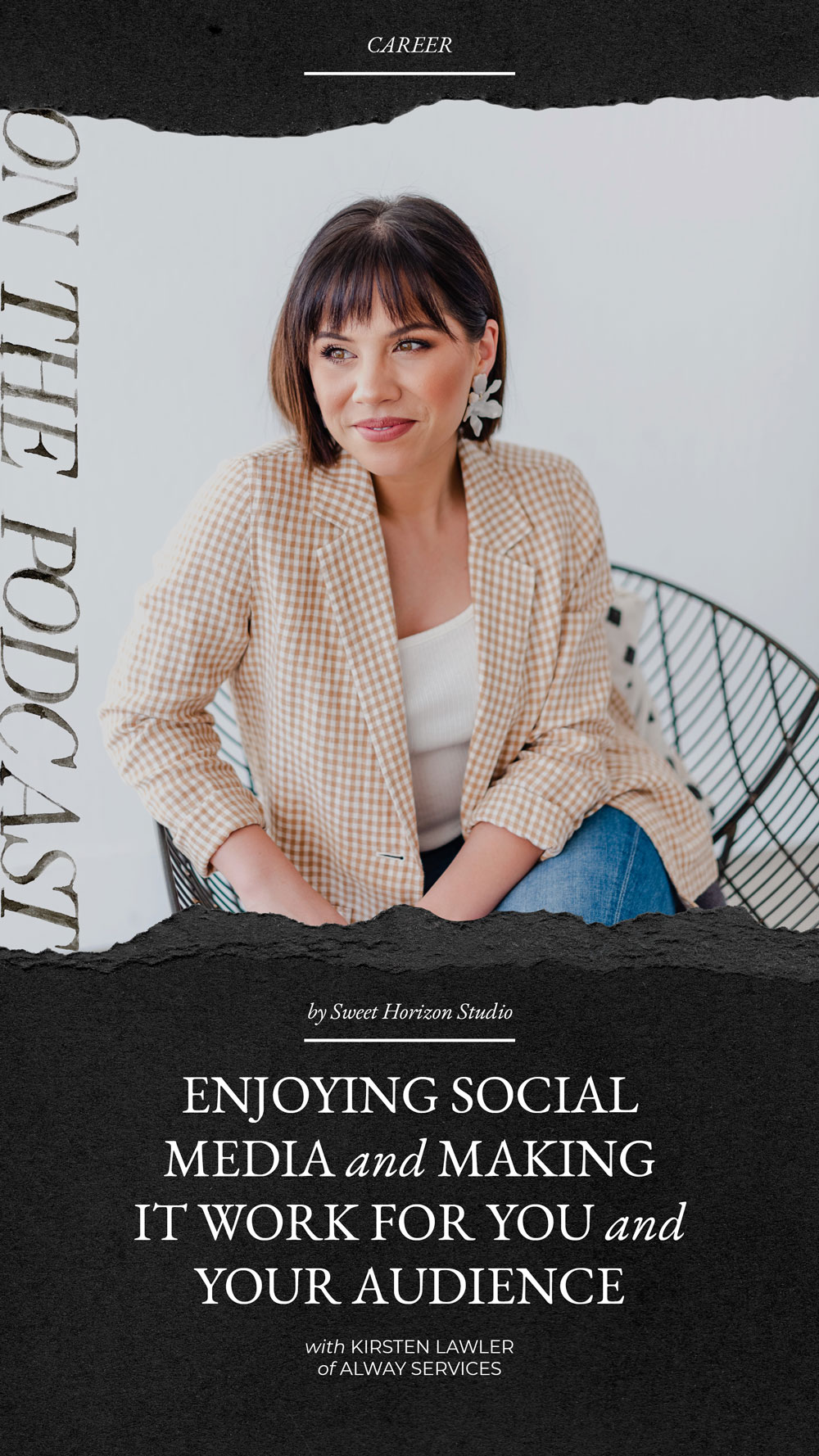 Enjoying social media and making it work for you and your audience with Alway Services from www.sweethorizonblog.com