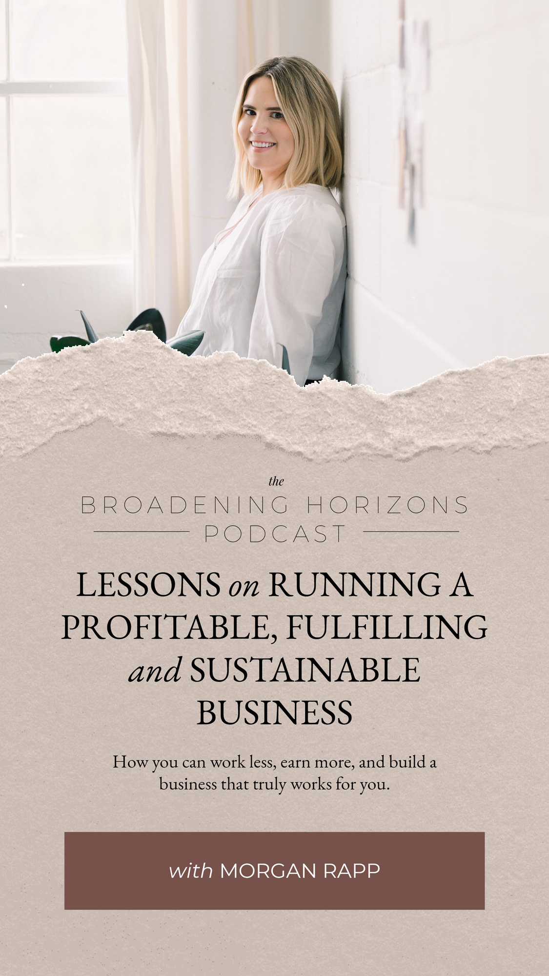 Lessons on Running a Profitable, Fulfilling, and Sustainable Business with Morgan Rapp from www.sweethorizonblog.com